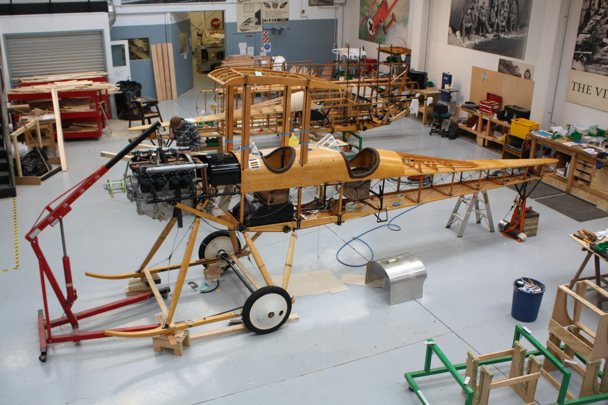 Building the FE 2b | The Vintage Aviator