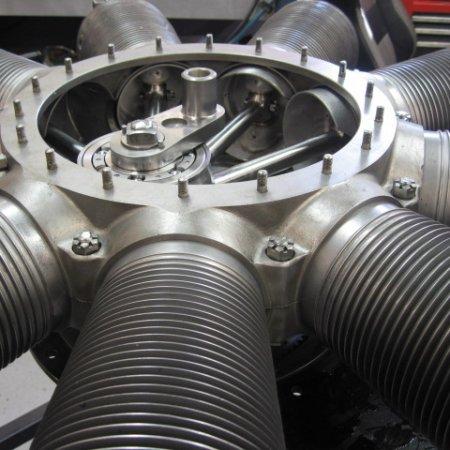 Clerget 9 B Engine Build 27