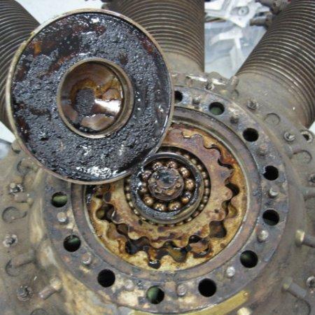 Clerget 9 B Engine Strip Down 3