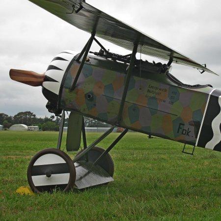 James Fahey Fokker DVIII Walkaround 12