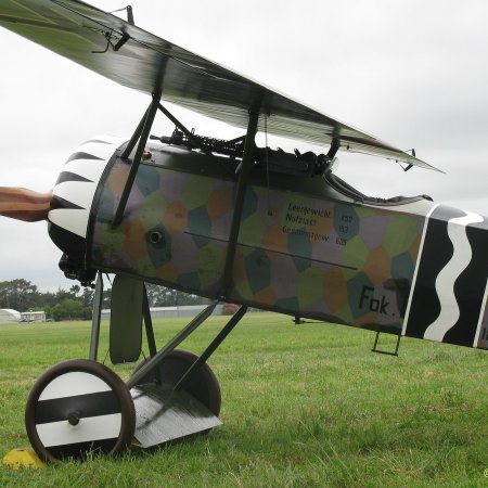 James Fahey Fokker DVIII Walkaround 13