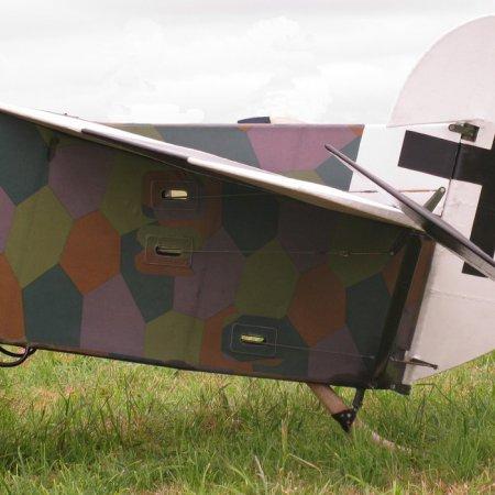 James Fahey Fokker DVIII Walkaround 16