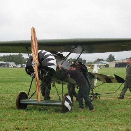 James Fahey Fokker DVIII Walkaround 21