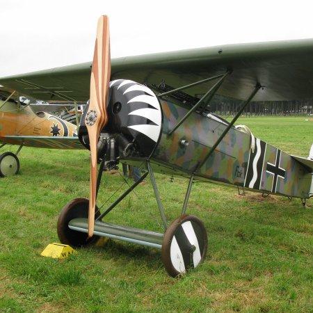 James Fahey Fokker DVIII Walkaround 26