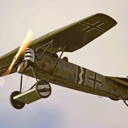 James Fahey Fokker DVIII Walkaround 30