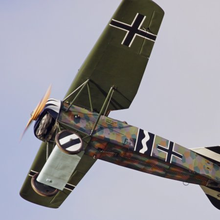 James Fahey Fokker DVIII Walkaround 31