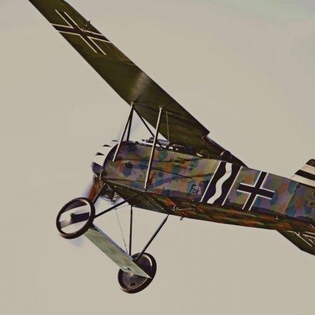 James Fahey Fokker DVIII Walkaround 32