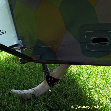James Fahey Fokker DVIII Walkaround 42