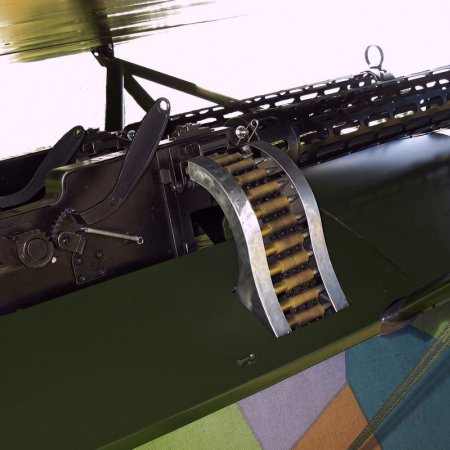James Fahey Fokker DVIII Walkaround 43