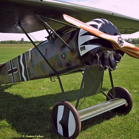 James Fahey Fokker DVIII Walkaround 46