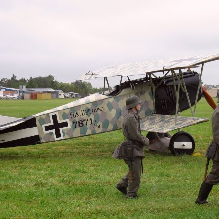 James Fahey Fokker DVII Walkaround