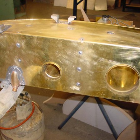 Bottom View Of Emergency Fuel Tank