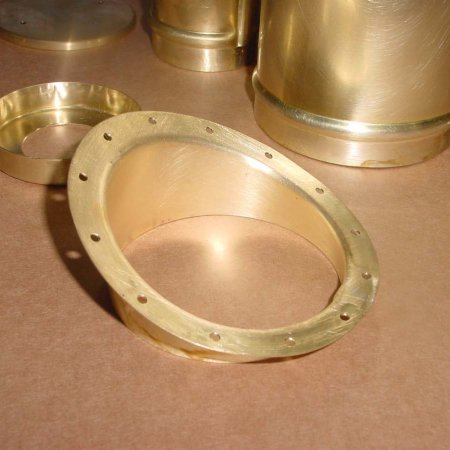 Detail Of Fuel Tank Flanged Part
