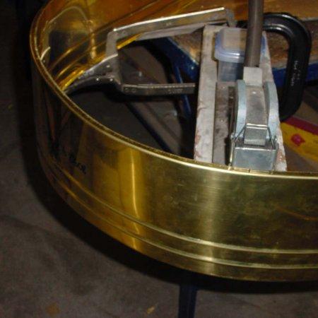 Shrinking Edge Of Main Fuel Tank Skin