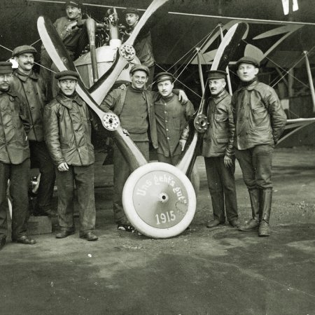 104 German Pilots In 1915 Celebration
