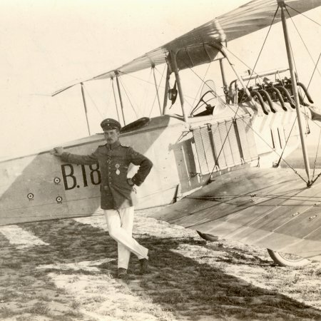 175 Aviatik With Pilot June 1915