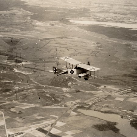 176 Albatros BII In Flight