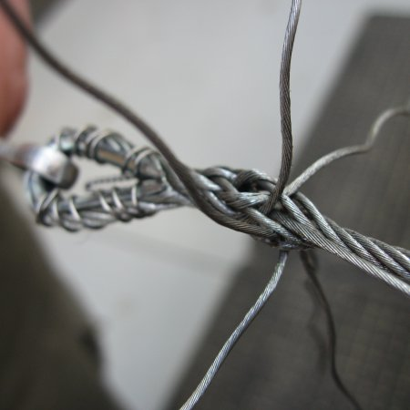 Splicing Second Tuck