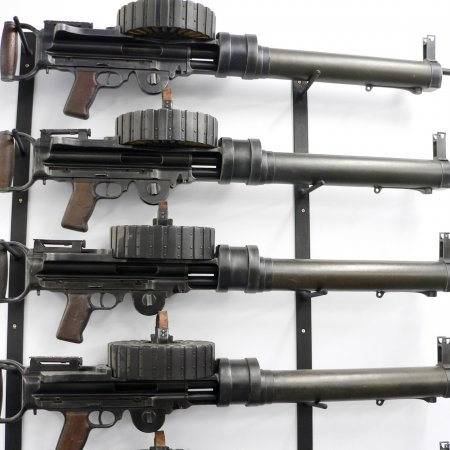 Gun Room Lewis Guns Wall Mounted