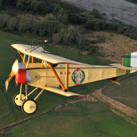 Nieuport 11 Bebe In Flight