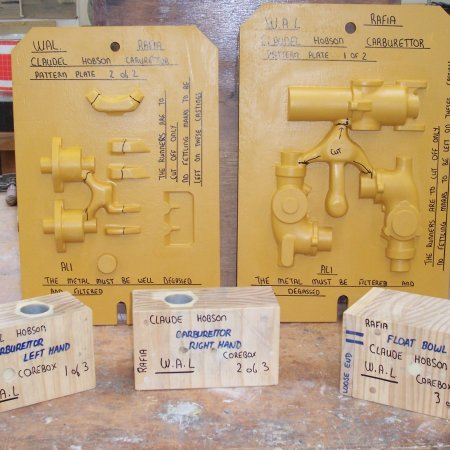 RAF 1 A Claudel Hobson Carb Patterns 1