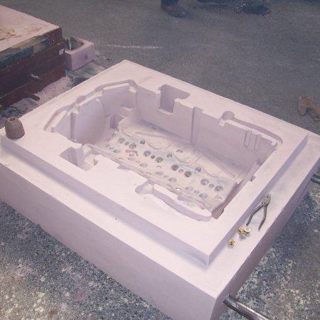 RAF 1 A Upper Crankcase Hardsand Molds