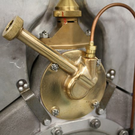 RAF 4 A Tachometer Drive And Air Pump Close Up