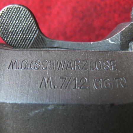 Schwarzlose Gun Engraving