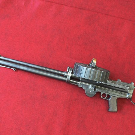 Lewis Gun US Savage Sl 1 Facing Left