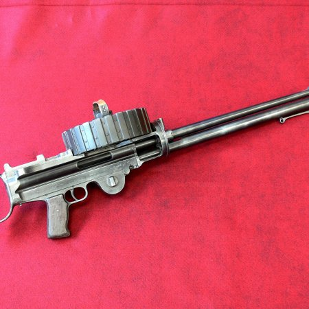 Lewis Gun US Savage Sl 5 Facing Right