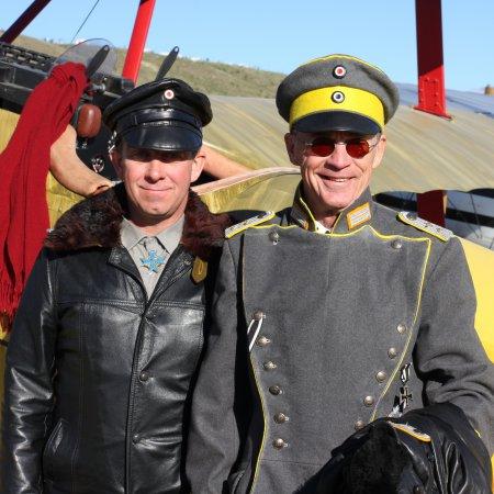 Wanaka 2008 GC 5 Jerry Chisum Right And Tim Sullivan