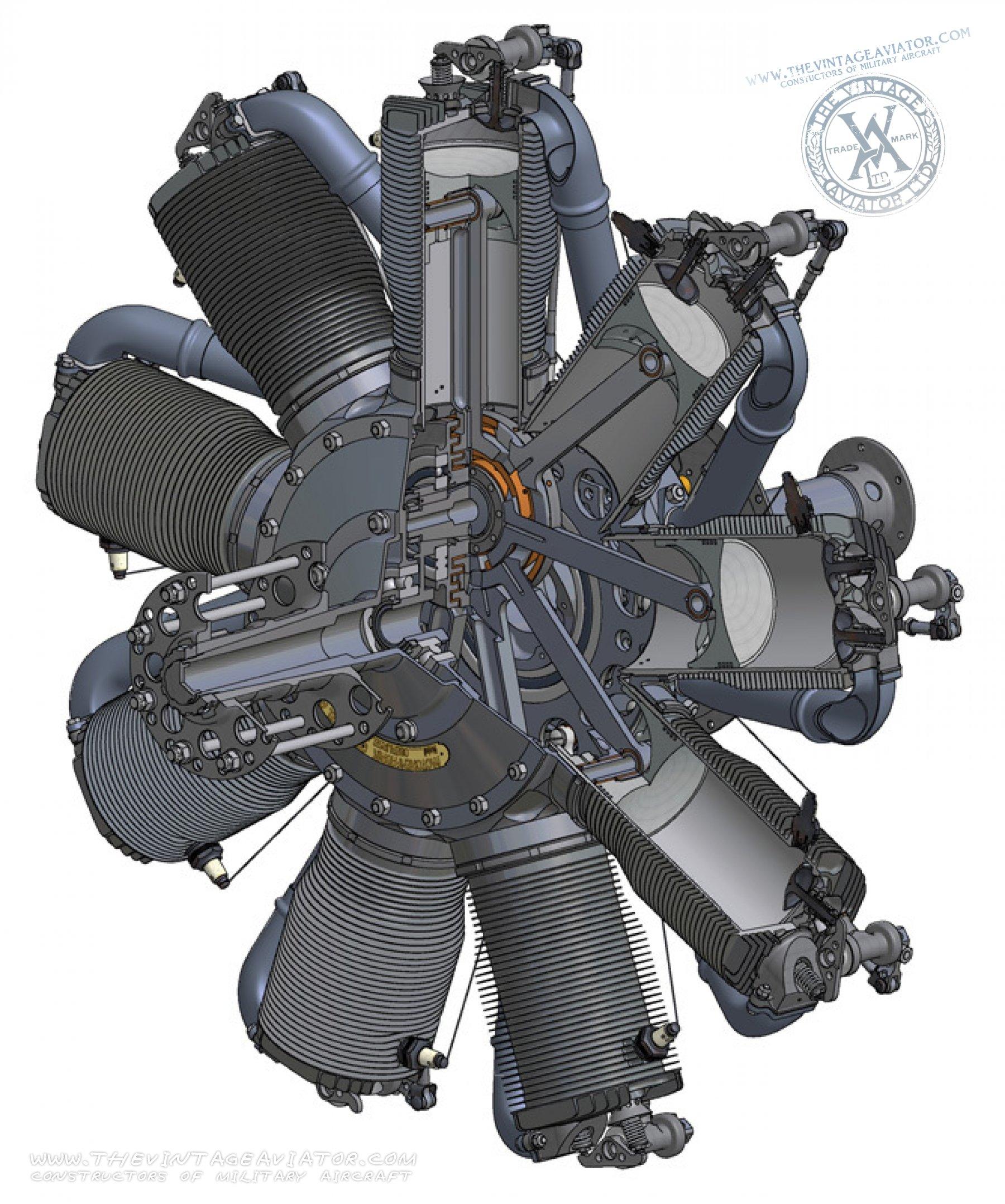 Oberursel UR II Engine | The Vintage Aviator
