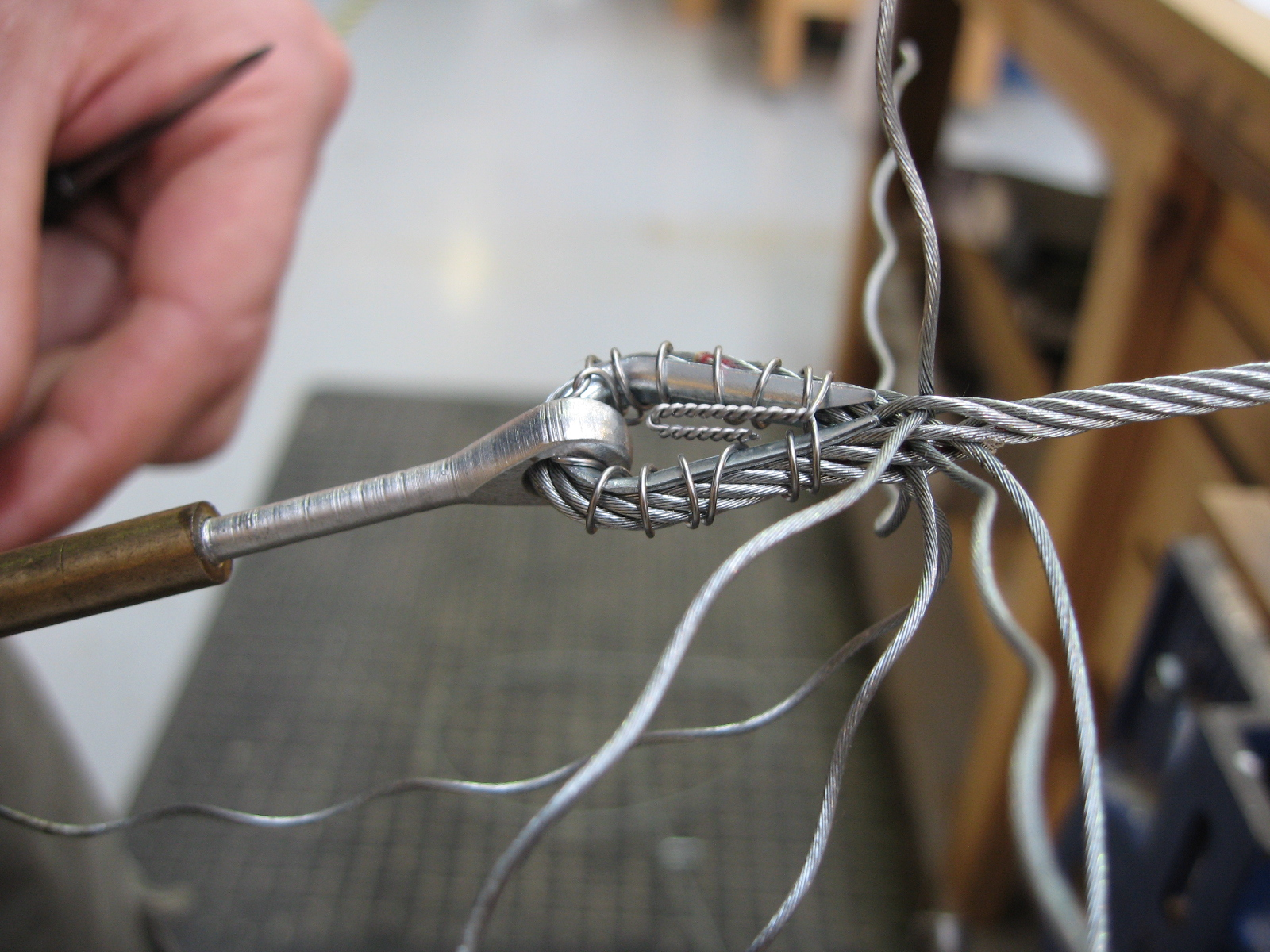 Cable Splicing | The Vintage Aviator