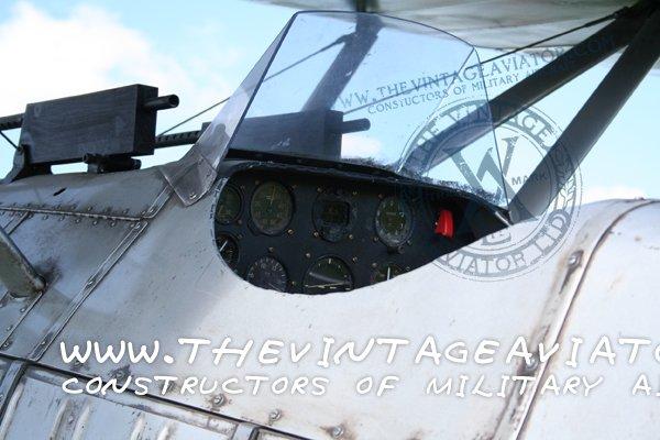 Cockpit - Curtiss F8C Helldiver