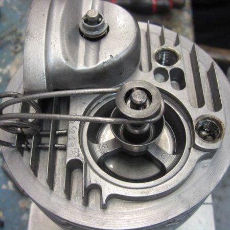 Clerget 9 B Engine Build 13