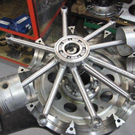 Clerget 9 B Engine Build 15