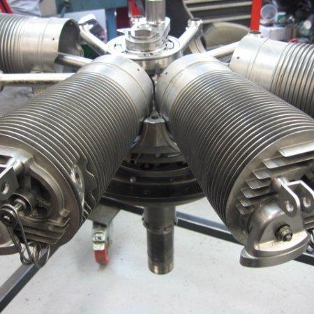 Clerget 9 B Engine Build 20