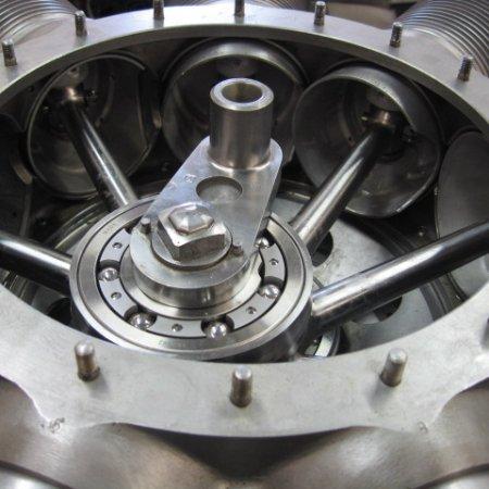 Clerget 9 B Engine Build 26