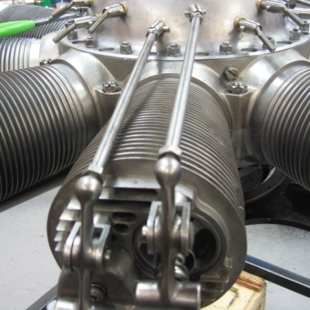 Clerget 9 B Engine Build 33
