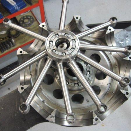 Clerget 9 B Engine Build 8
