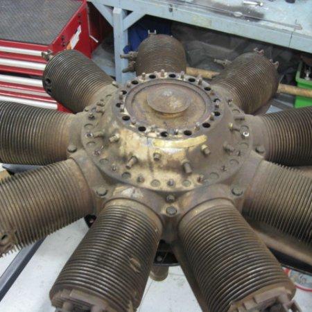 Clerget 9 B Engine Strip Down