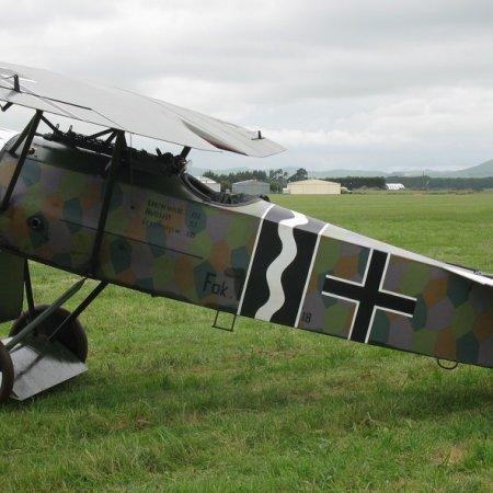 James Fahey Fokker DVIII Walkaround 11