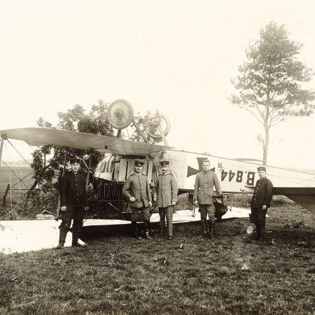 029 Albatros BII 844 15 Crash