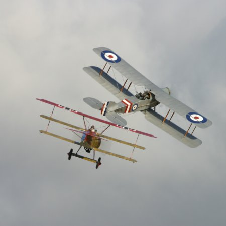 Classic Fighters 2003 Bristol Fighter And Fokker Triplane 1