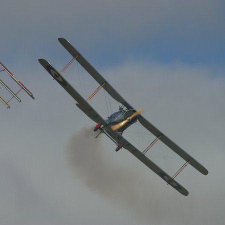 Classic Fighters 2003 Bristol Fighter And Fokker Triplane 2