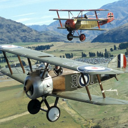 Classic Fighters 2003 Sopwith Camel And Fokker Riplane 1