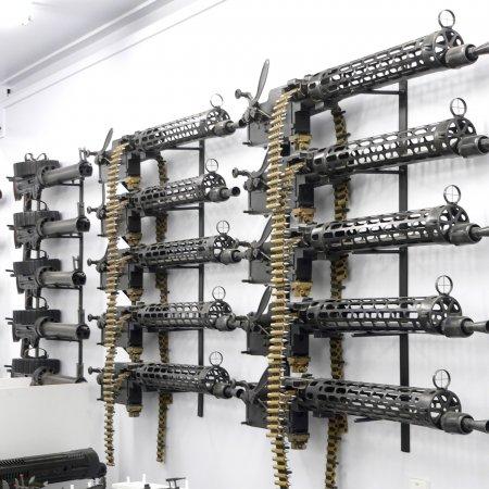 Gun Room LMGs Wall Mounted