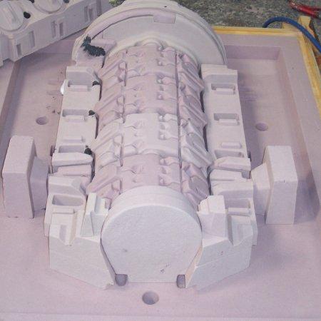 RAF 1 A Assembling Hardsand Cores 2