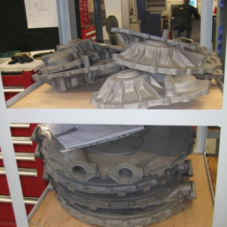 RAf 1 A Cast Front And Rear Covers