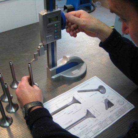 RAF 1 A Exhaust Valves Being Inspected 2